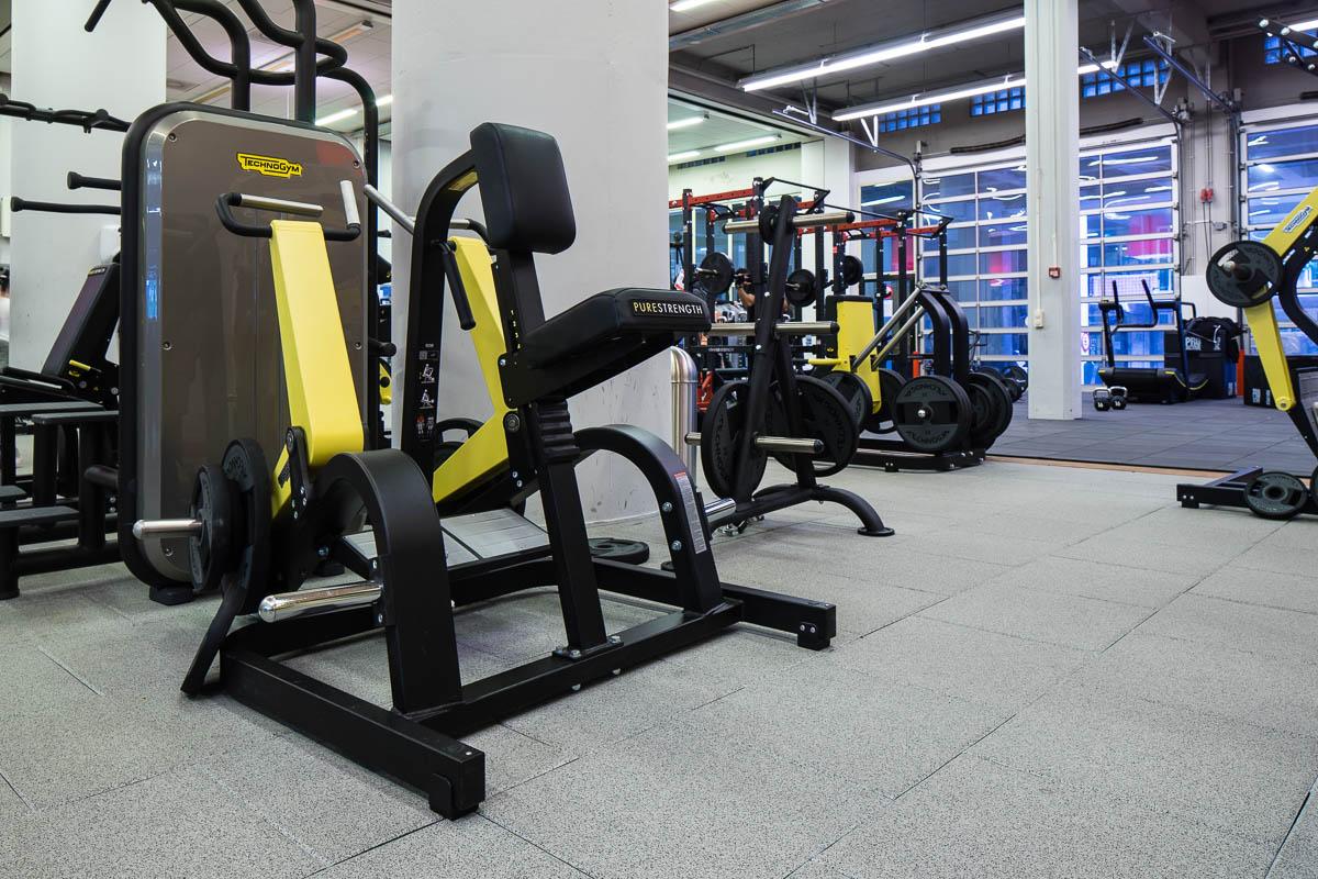 geschikte vloer voor sportschool